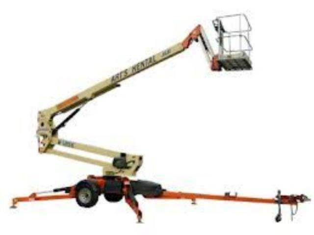 Where to find 50  Towable Boom Lift in Pell City